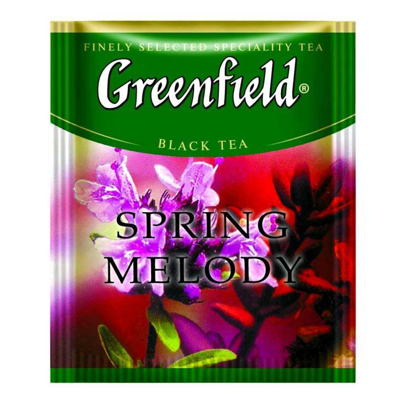 Травяной Чай Greenfield Spring Melody (100 шт) Чабрец