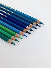Олівці кол. аквар. MONDELUZ cobalt blue dark