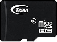 Карта памяти Team microSDHC class 4 SD adapter 16Gb #I/S