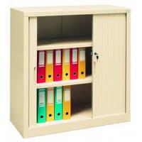 Металлический офисный шкаф с дверями типа жалюзи Sbm 105