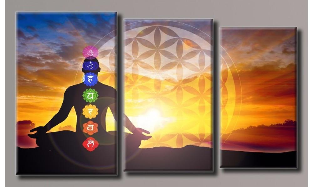 Модульная картина Медитация 55х94 см (HAT-172)