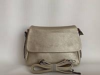 Женская классическая вместительная золотистая сумка Pretty Woman, фото 1