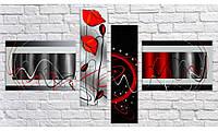 Модульная картина Абстракция стиль-6 56х100 см (HAF-172)
