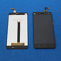 Дисплей с сенсором XIAOMI MI4 для телефона, черного цвета