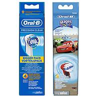 Насадки для зубной щетки ORAL-B Precision Clean + Тачки (Cars) 8 шт.