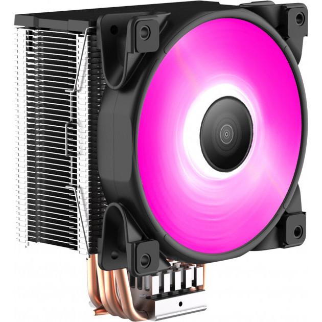 Кулер для процессора PcСooler GI-D56V Halo RGB TDP 160 Вт