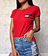 Женская футболка Tommy Jeans, стильна жіноча футболка