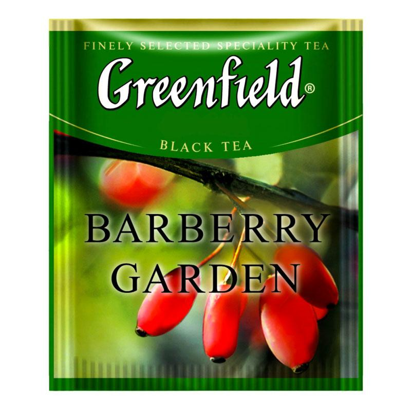 Черный Чай Greenfield Barberry Garden (100 шт) Барбарис