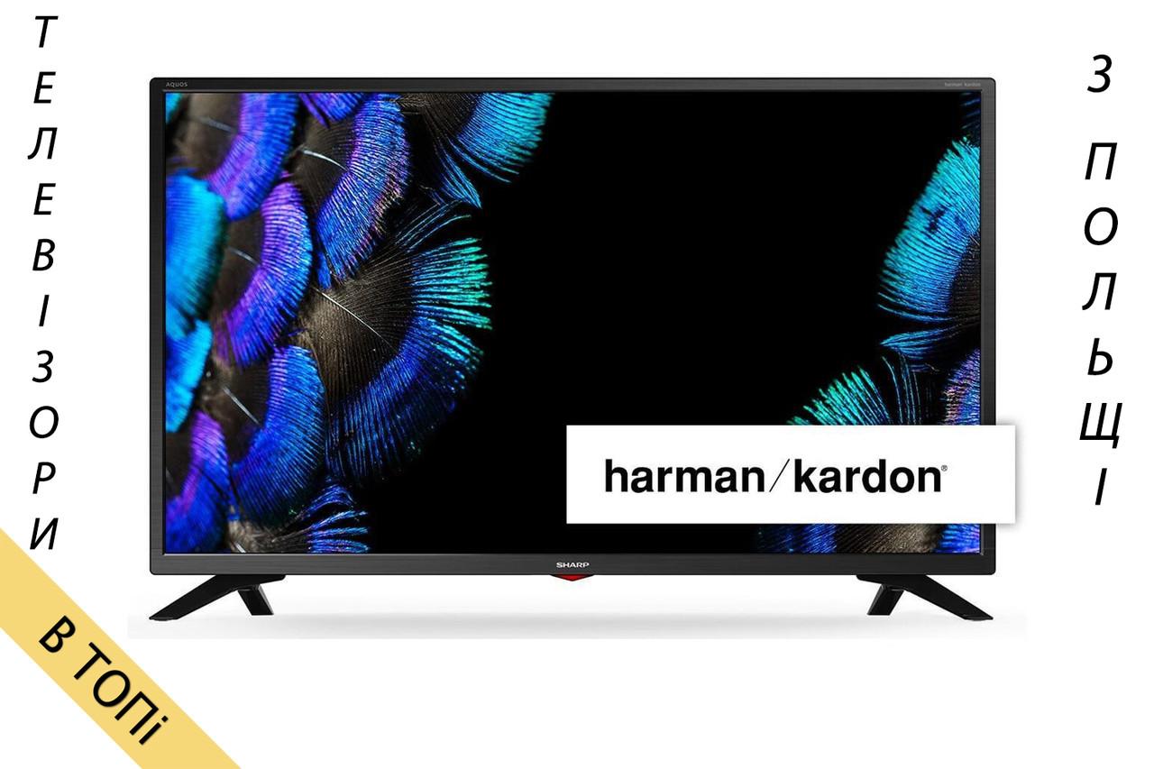 Телевизор SHARP LC-32HI5432E Smart TV HD Ready T2 S2 200Hz из Польши 2018 год ОРИГИНАЛ