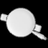 Светильник 9W светодиодный врезной LED MAXUS SP edge, 4100К (круг), фото 2