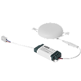 Светильник 9W светодиодный врезной LED MAXUS SP edge, 4100К (круг), фото 3