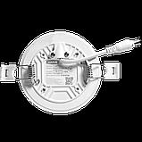 Светильник 9W светодиодный врезной LED MAXUS SP edge, 4100К (круг), фото 4