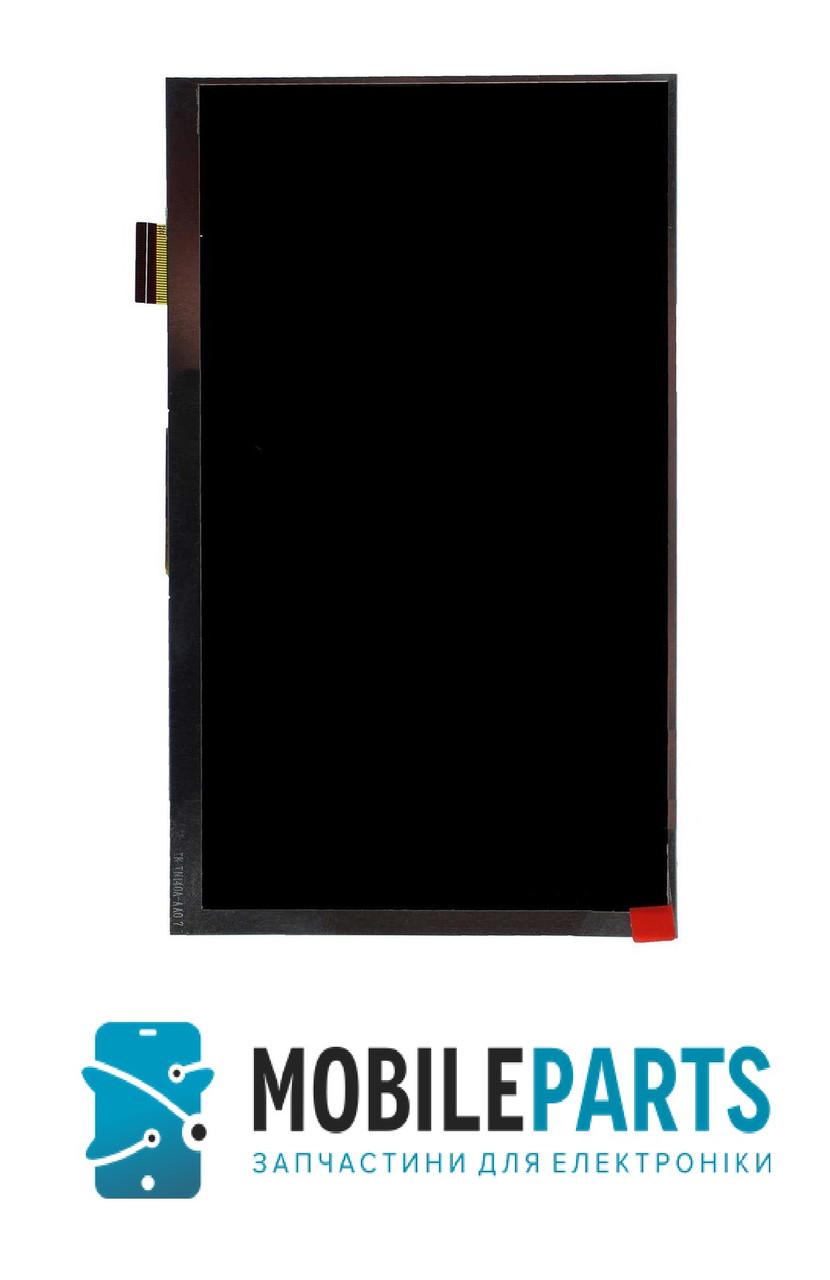 """Дисплей  к планшету 7"""" Nomi C07005 30 pin 164*97мм (1024*600) Оригинал Китай"""