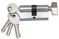 Цилиндровый механизм Fortezi I-60 (30x30) ключ/поворотник Хром