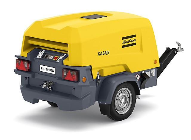 Дизельный компрессор Atlas Copco XAS 68 KD с генератором