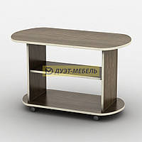 Журнальный стол на колесиках ПАРУС (90 см)