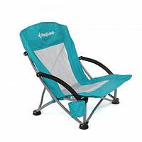 Раскладное кресло KingCamp beach chair (KC3841) Cyan