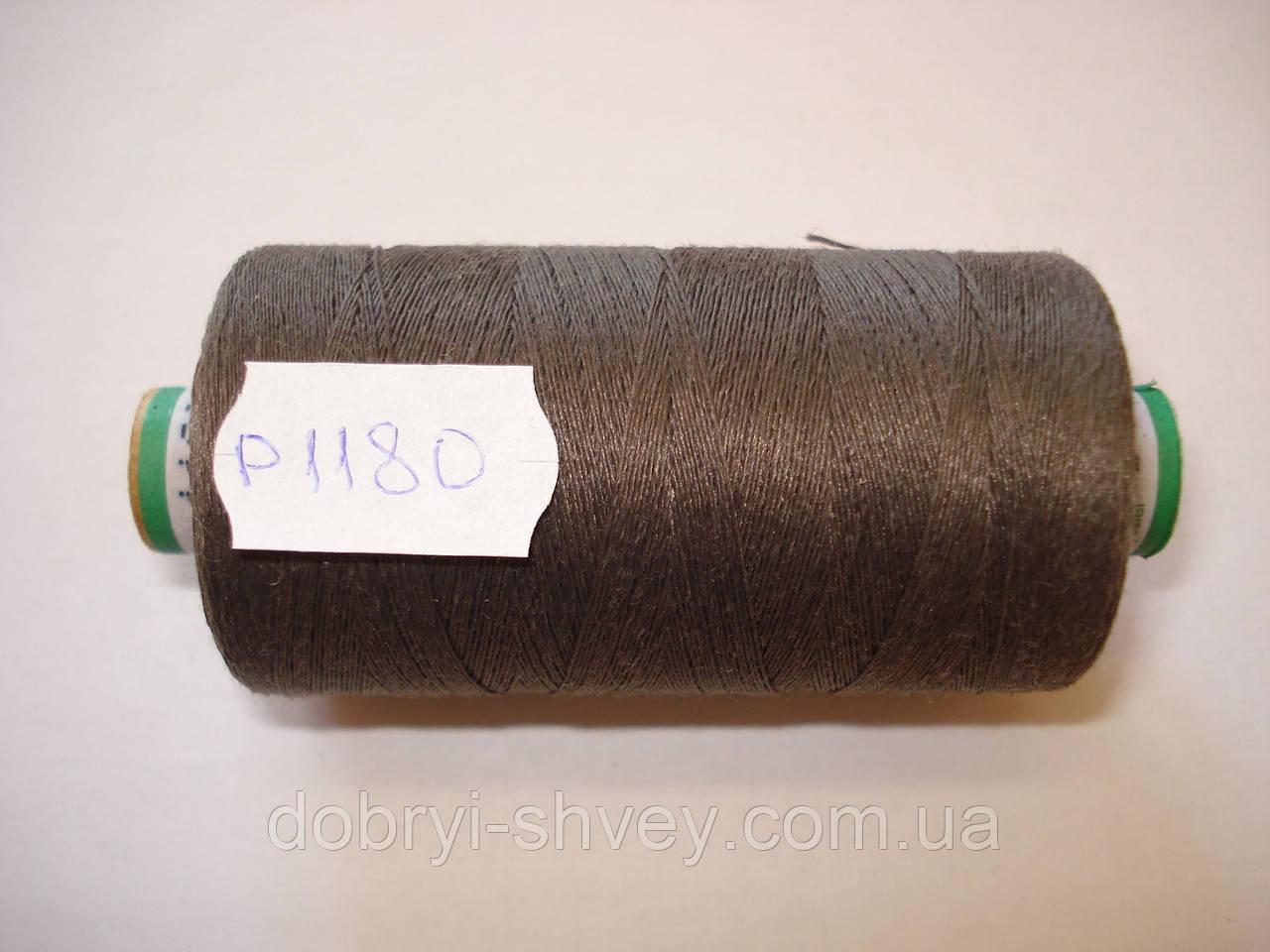 Нитка AMANN PAX №80 800м.col 1180 т.зеленый (шт.)