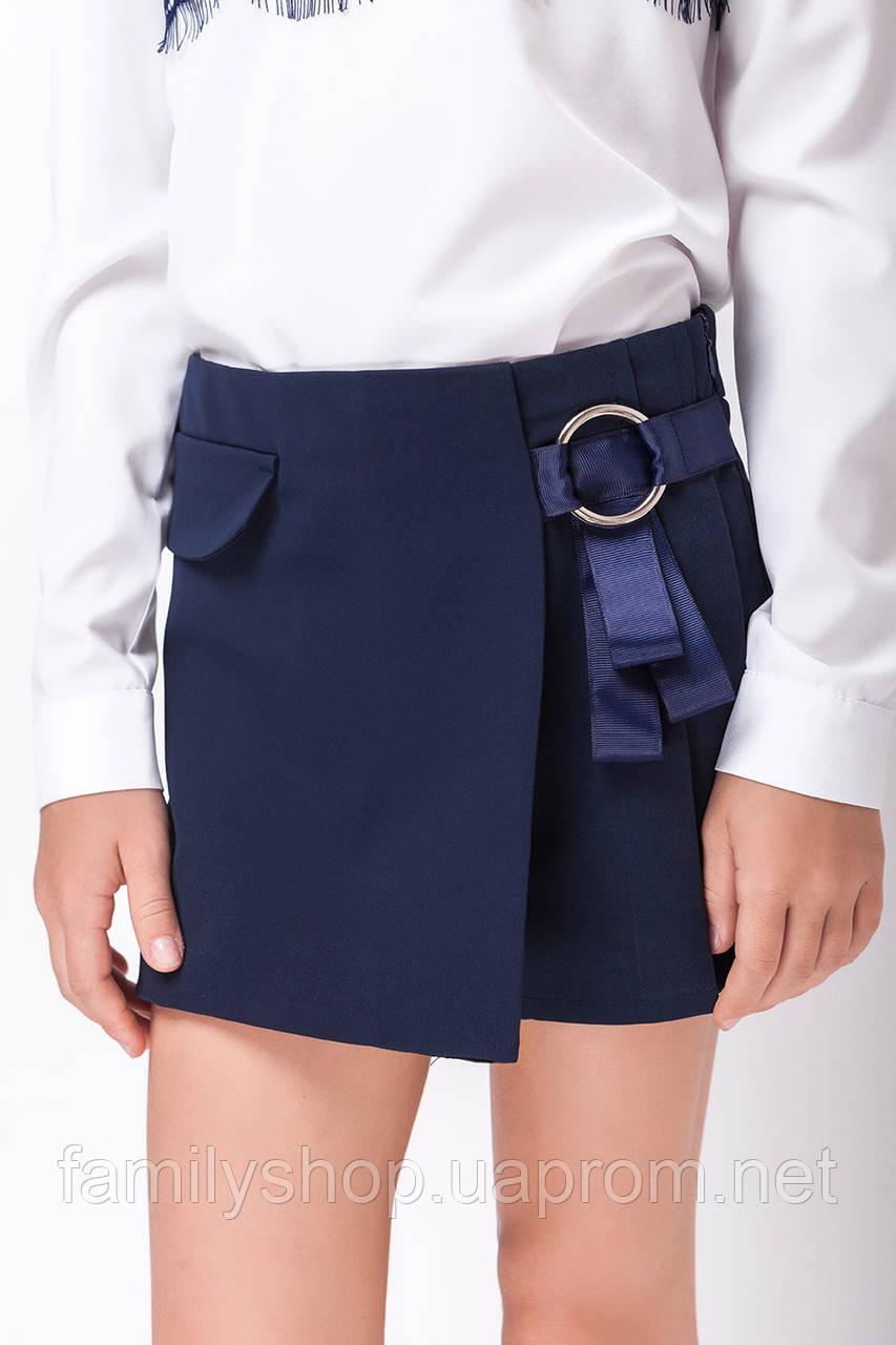 Школьная форма на девочку, юбка-шорты