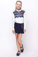 Школьная форма на девочку, юбка-шорты , фото 2