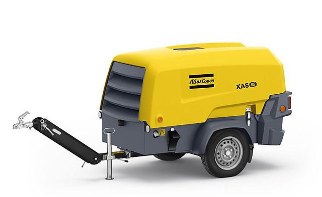 Дизельный компрессор Atlas Copco XAS 88 Kd