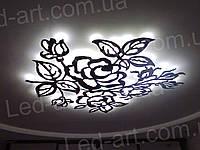 Светодиодный светильник контражурный 1200 х 1160 мм  100 Вт LED-ART-125