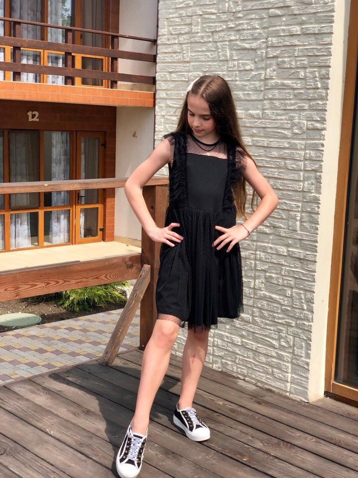 Платье LiLove 531 152 черный