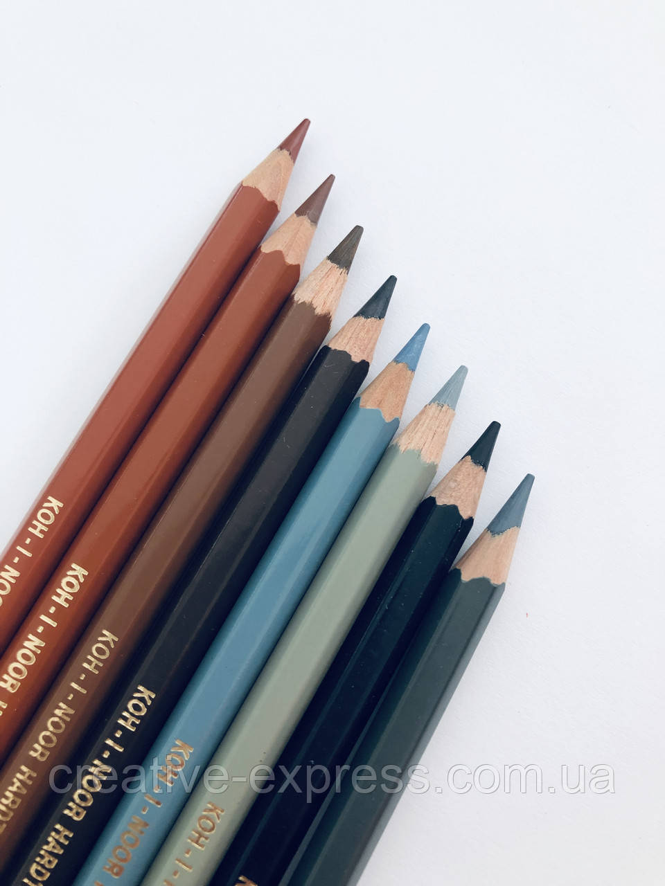 Олівці кол. аквар. MONDELUZ reddish brown