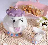 Чашка и чайник миссис Поттс, «Красавица и Чудовище»