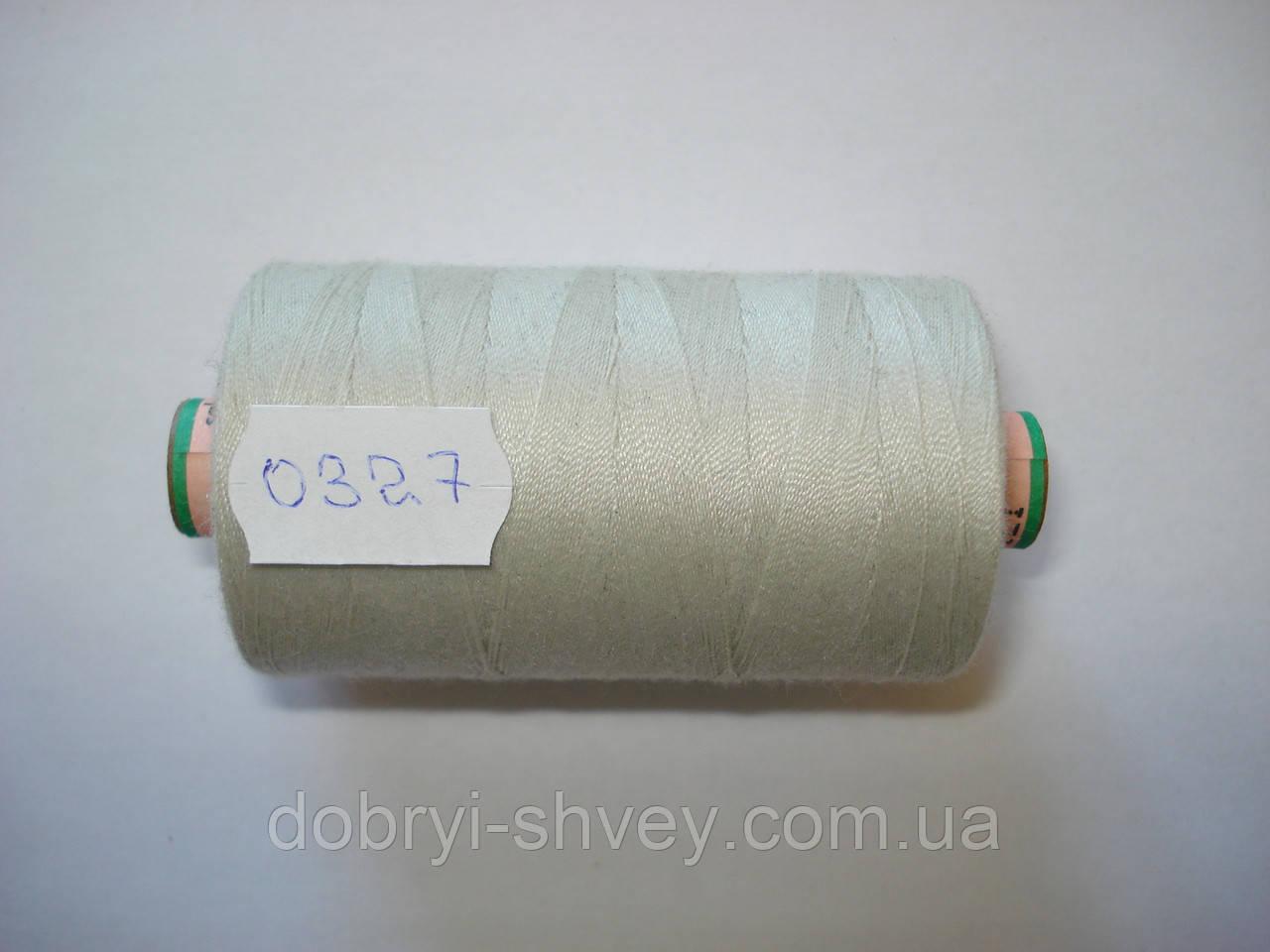 Нитка AMANN Saba c №80 1000м.col 0327 св.бежево-серый (шт.)