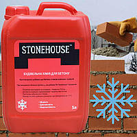 Протиморозна добавка до бетону 10л. та цементних розчинів «3 в 1» ТМ «Stone House»
