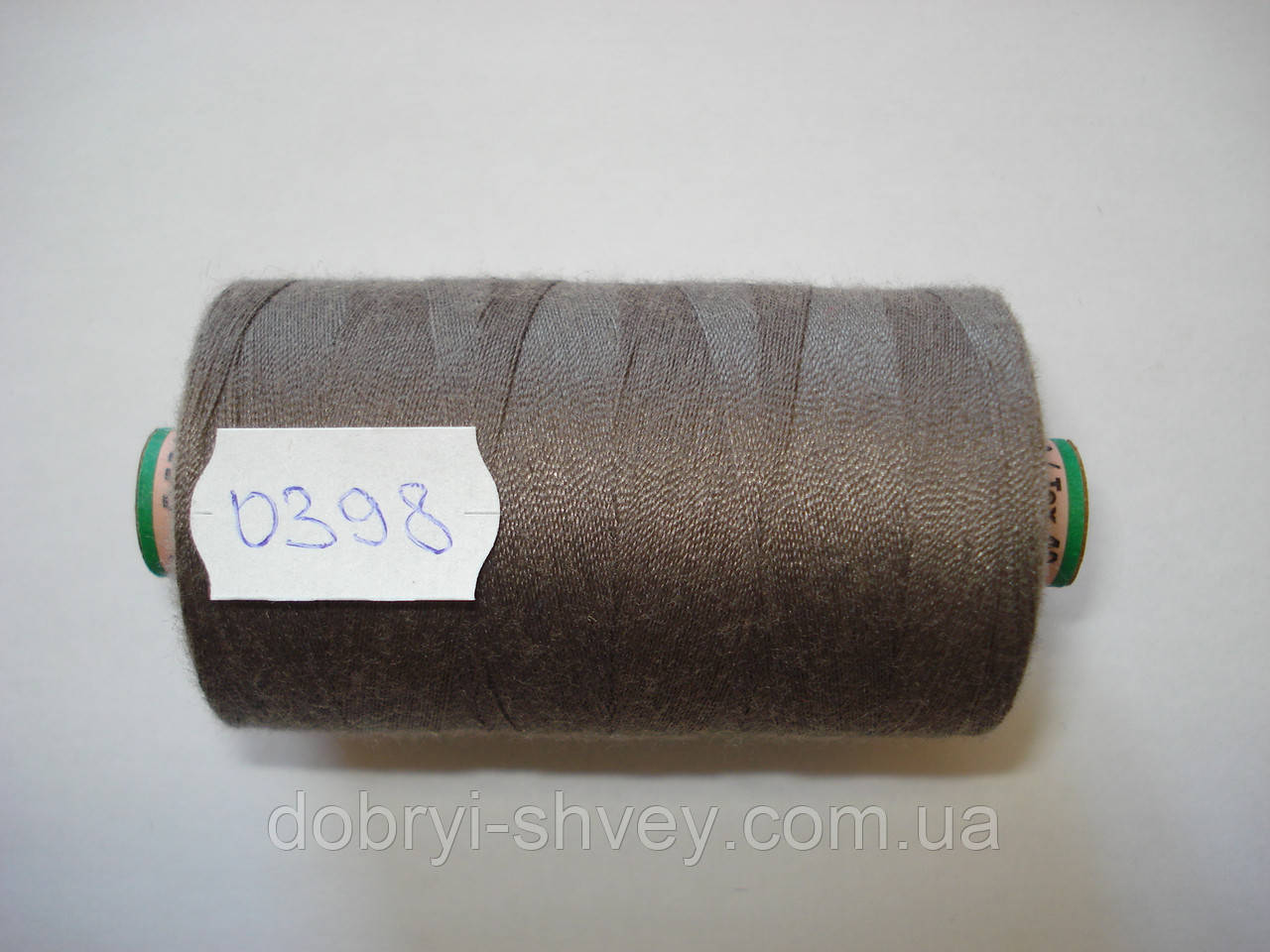 Нитка AMANN Saba c №80 1000м.col 0398 бежево-серый (шт.)