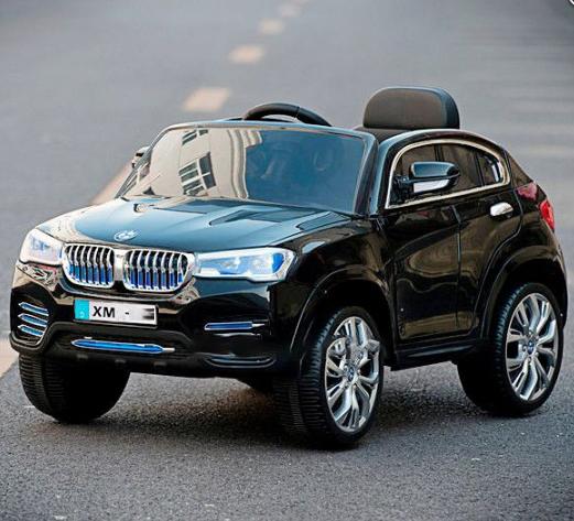 Детский электромобиль с пультом джип BMW XM806 Черный