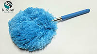 Пушистая метла для уборки пыли с телескопической ручкой
