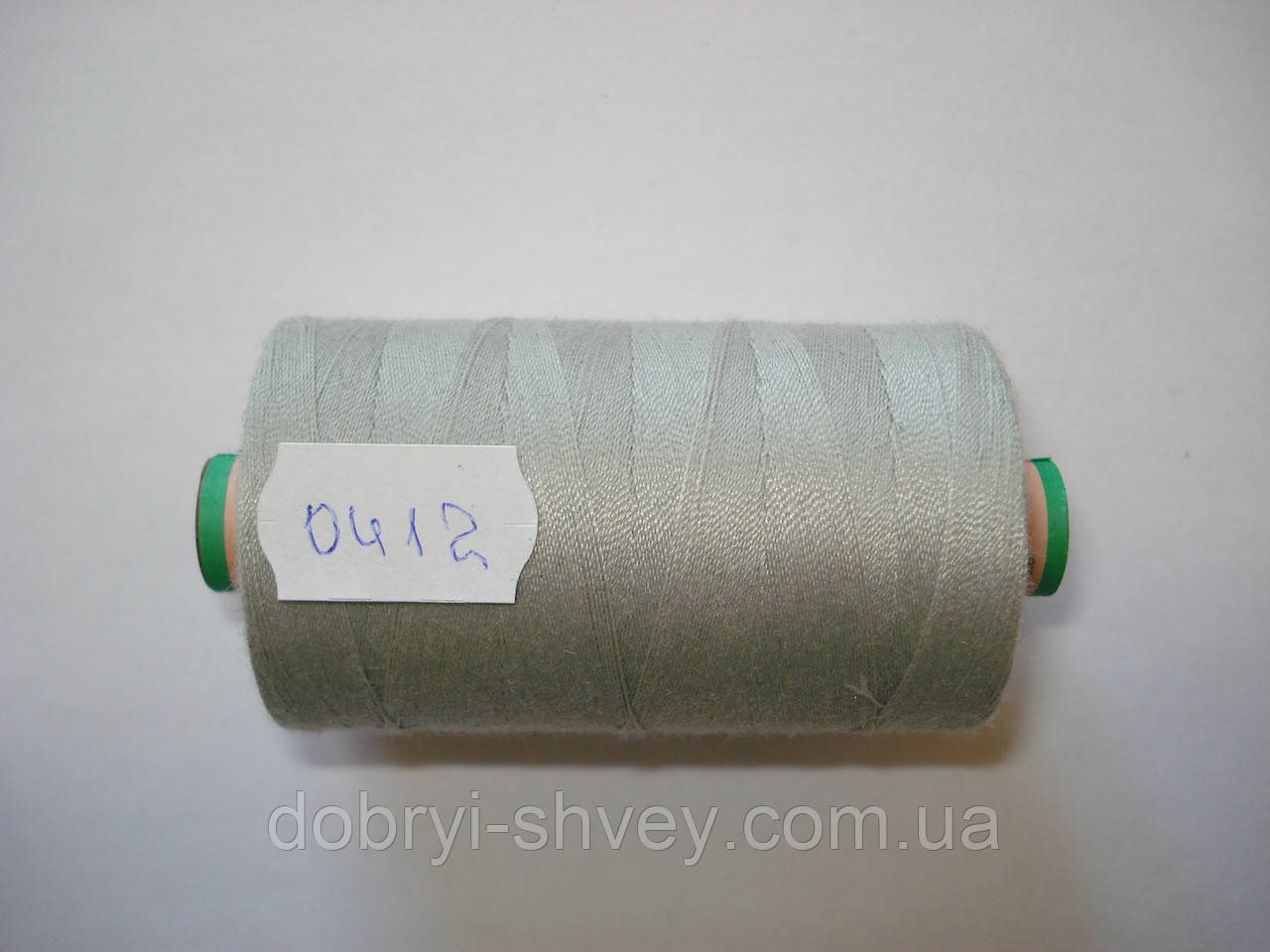 Нитка AMANN Saba c №80 1000м.col 0412 серый (шт.)