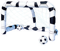 52058 BW, BestWay, Футбольный набор (надувные ворота 213х122х137 см + 2 мяча)