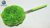Метла-кисточка для уборки пыли с телескопической ручкой