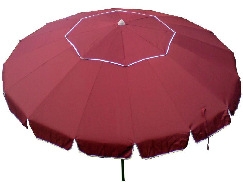 Пляжный торговый зонт с серебристым напылением 3.2 м