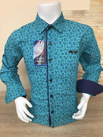 Детская рубашка S. Besni с принтом 11-16, фото 2