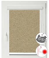 Рулонные шторы кассетные на окна Люминис 927