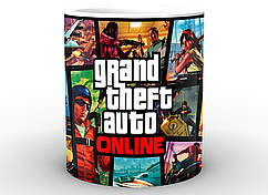 Кружка GeekLand GTA ГТАпостер GT.02.01
