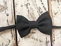 Детская галстук бабочка, черная