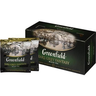 Черный Чай Greenfield Earl Grey (25 шт) Бергамот