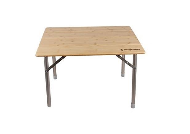 Раскладной стол KingCamp 4-Fold Bamboo table (KC3954A) Bamboo