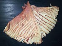 Кальмар солено - сушёный Пласт в арахисовом масле, закуска к пиву (снек) 1 кг