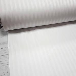 Сатин Stripes белый (шир 2.2)