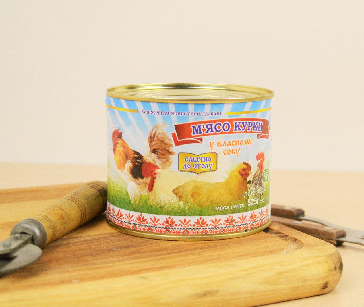 Куриное мясо в собственном соку 525 г Этнические мясники