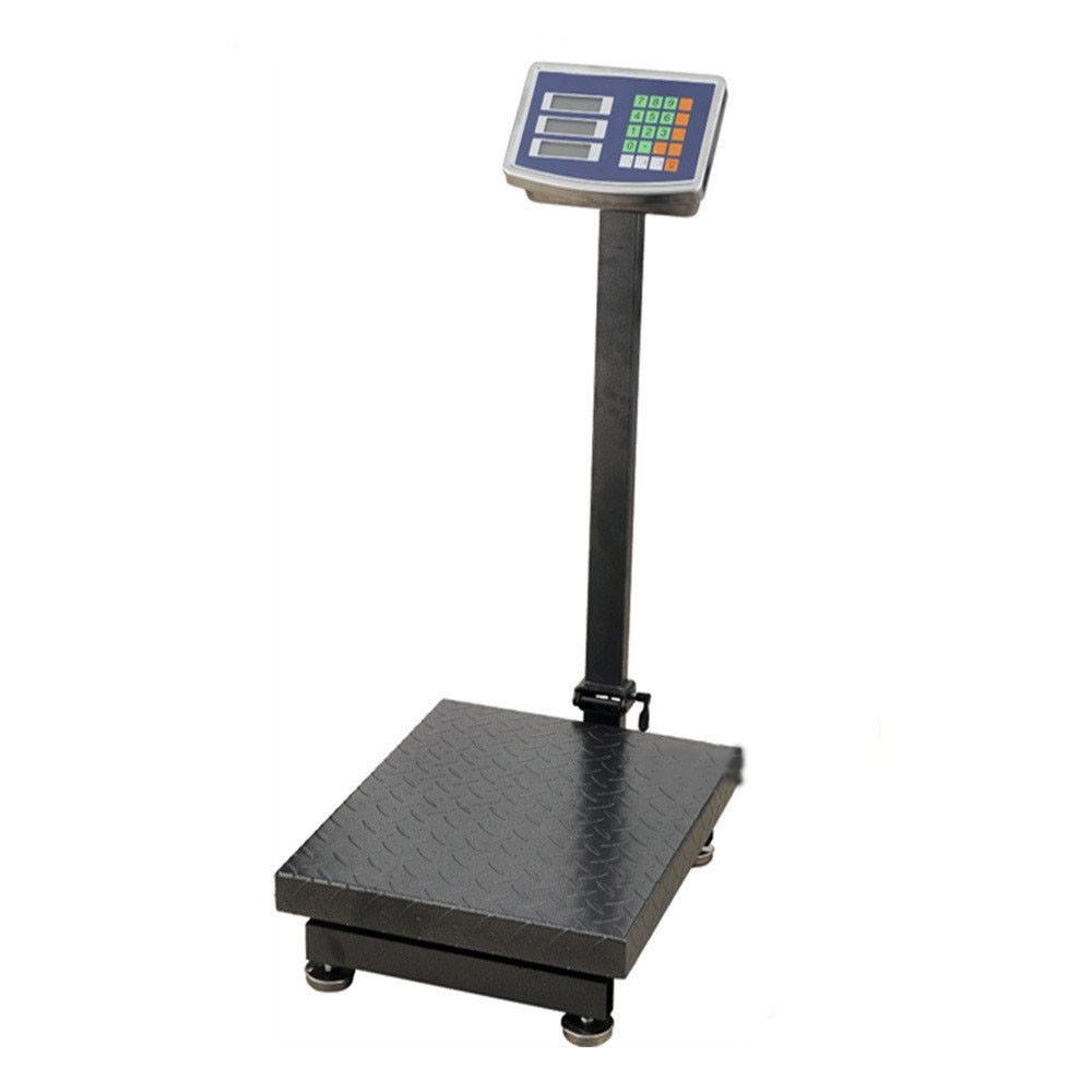 Весы торговые Domotec со стойкой до 100 кг