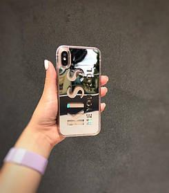 Чехол iPhone 6, 6s, 6 Plus, 6s Plus, 7, 7 Plus, 8, 8 Plus, X, Xs, 10 Голограмма, Бампер на Айфон, Силикон / чохол