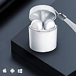 Навушники бездротові безпроводні наушники блюз bluetooth 5.0 Wi-pods X10 зарядний кейс кращі за Air Pods білі, фото 3